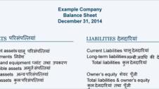 Balance Sheet in Hindi