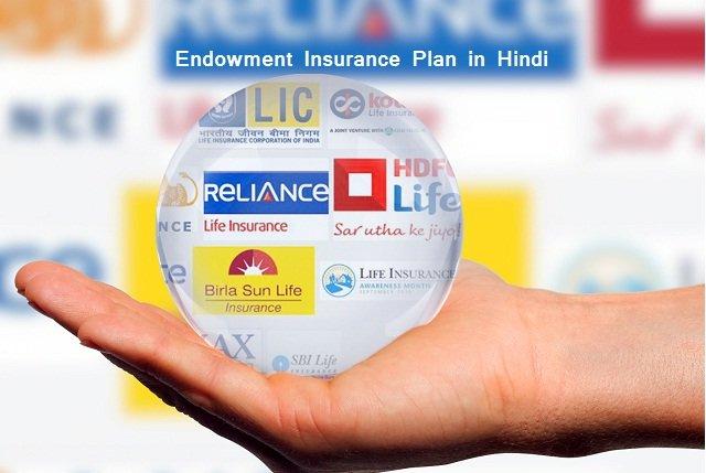 एंडॉमेंट इंश्योरेंस प्लान Endowment Insurance Plan in Hindi