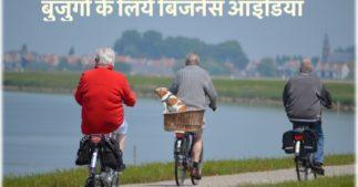 बुजुर्गों के लिये बिजनेस आइडिया
